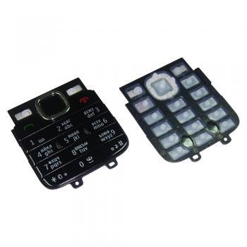 Клавиатура Nokia C1-01 черная (рус/англ)
