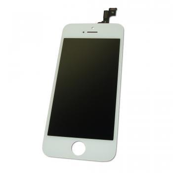 Дисплей iPhone 5S с сенсором и рамкой, белый (копия AAA)