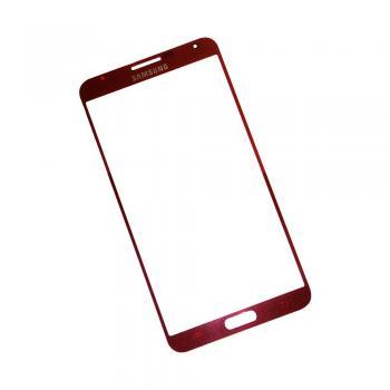Стекло Samsung N9005 N9000 Galaxy Note 3 красное