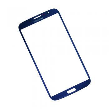 Стекло Samsung i9200 Galaxy Mega 6.3 синие