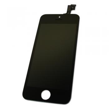 Дисплей iPhone 5S с сенсором и рамкой, черный (копия AAA)