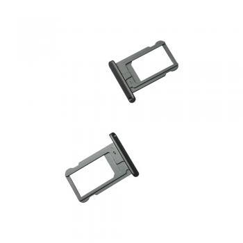 Держатель, внешний слот SIM карты iPad Air / iPad Mini 2 серый (оригинал)