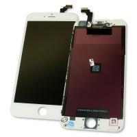 Дисплей iPhone 6 Plus с сенсором и рамкой, белый (оригинал)