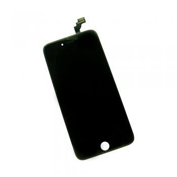Дисплей iPhone 6 Plus с сенсором и рамкой, черный (оригинал)