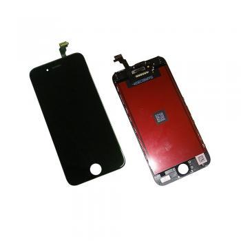 Дисплей iPhone 6 с сенсором и рамкой, черный (оригинальная матрица)