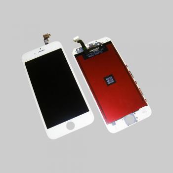 Дисплей iPhone 6 с сенсором и рамкой, белый (оригинальная матрица)