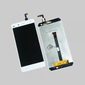 Дисплей Xiaomi Mi4 с сенсором, белый (оригинальные комплектующие)