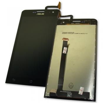 Дисплей Asus ZenFone 5 A500CG A501CG A500KL с сенсором, черный (оригинал Китай)