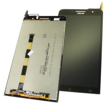 Дисплей Asus ZenFone 6 A600CG с сенсором, черный (оригинальные комплектующие)
