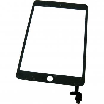Сенсорный экран iPad Mini 3 черный + шлейф с IC контроллером