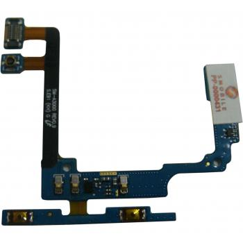Шлейф Samsung A300H A300F Galaxy A3 + кнопки регулировки громкости и микрофон (оригинал Китай)