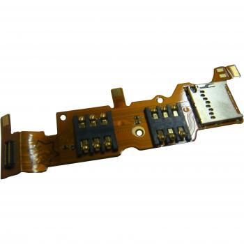 Шлейф Huawei Ascend Y530 в комплекте контакты на 2 SIM карты и карту памяти