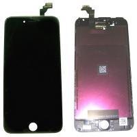 Дисплей iPhone 6 Plus с сенсором и рамкой, черный (оригинальная матрица)