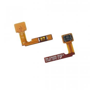 Шлейф Samsung A300H A300F Galaxy A3 + кнопка включения телефона