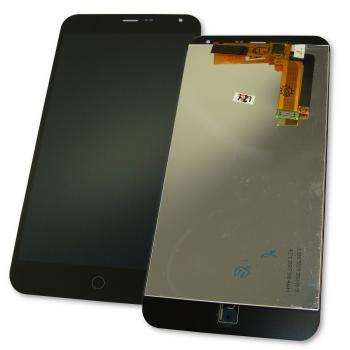 Дисплей Meizu M1 Note с сенсором, черный (оригинальная матрица)