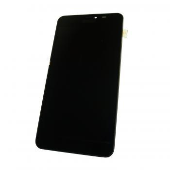 Дисплей Nokia Lumia 640 XL с сенсором и рамкой, черный (копия AAA)
