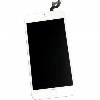 Дисплей iPhone 6S Plus с сенсором и рамкой, белый (оригинал)