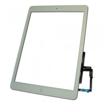 Сенсорный экран iPad Air белый + шлейф кнопки HOME (копия)