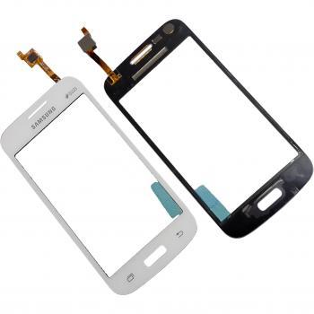 Сенсорный экран Samsung G350E Galaxy Star Advance белый (оригинальные комплектующие)