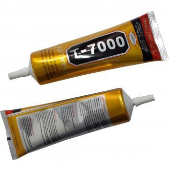 Клей силиконовый T7000 (110 мл черный) для приклеивания сенсоров и рамок