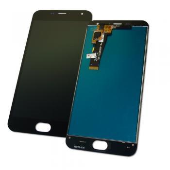 Дисплей Meizu M2 и M2 mini с сенсором, черный (оригинал Китай)
