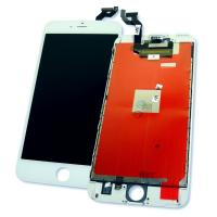 Дисплей iPhone 6S Plus с сенсором и рамкой, белый (оригинальная матрица)