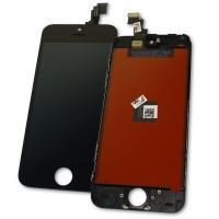 Дисплей iPhone 5C с сенсором и рамкой, черный (копия AA)