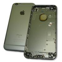 Задняя крышка корпуса iPhone 6S серая + внешние кнопки и держатель SIM карты (оригинальные комплектующие)