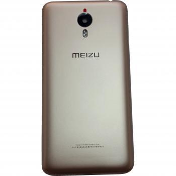 Задняя крышка, корпус Meizu M1 Meilan Metal золотистая (оригинал)