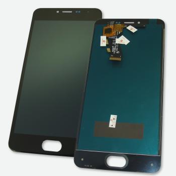 Дисплей Meizu M3 и M3 mini с сенсором, черный (оригинальные комплектующие)