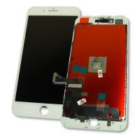 Дисплей iPhone 7 Plus с сенсором и рамкой, белый (оригинальные комплектующие)