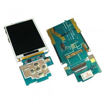 Дисплей Samsung J600 на плате с клавиатурным модулем