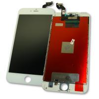 Дисплей iPhone 6S Plus с сенсором и рамкой, белый (копия AAA)