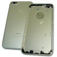 Задняя крышка корпуса iPhone 7 Plus серебристая + внешние кнопки и держатель SIM карты (копия AAA)
