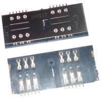 Контакты с держателем для двух SIM карт Lenovo P780 (оригинал Китай)