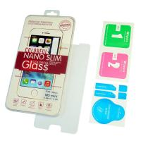 Защитное стекло на дисплей Meizu M5 Mini полностью прозрачное 0.26мм 2.5D 9H