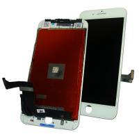 Дисплей iPhone 8 Plus с сенсором и рамкой, белый (оригинал)