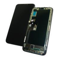 Дисплей iPhone X с сенсором и рамкой, черный (оригинальные комплектующие)
