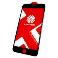 Защитное закаленное стекло XO FD1 для iPhone 6 Plus / 6S Plus полноэкранное черное 0.26 мм 3D (оригинал)