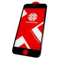 Защитное закаленное стекло XO FD1 для iPhone 6 / 6S полноэкранное черное 0.26 мм 3D (оригинал)