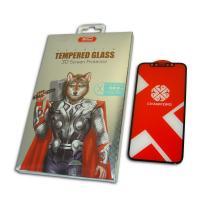 Защитное закаленное стекло XO FD1 для iPhone X / XS / 11 Pro полноэкранное черное 0.26 мм 9H+ 3D (оригинал)