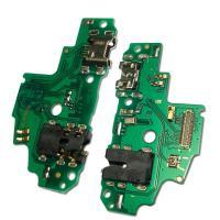 Разъем зарядки Huawei P Smart на плате + разъем под наушники и микрофон (оригинальные комплектующие)