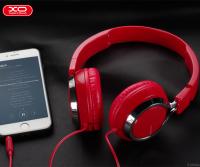Наушники XO S19 On-Ear Foldable with Mic красные