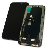 Дисплей iPhone XS с сенсором и рамкой, черный (оригинал)