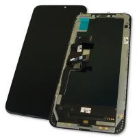 Дисплей iPhone XS Max с сенсором и рамкой, черный (оригинал)