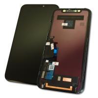 Дисплей iPhone XR с сенсором и рамкой, черный (оригинал)