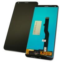 Дисплей ZTE Blade V9 с сенсором, черный (оригинальные комплектующие)