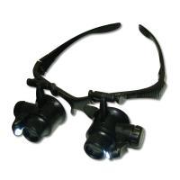 Очки бинокулярные 9892GJ с LED подсветкой + комплект линз 10X, 15X, 20X, 25X