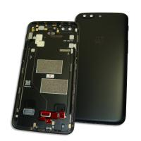 Задняя крышка, корпус OnePlus 5 черная (оригинал Китай)