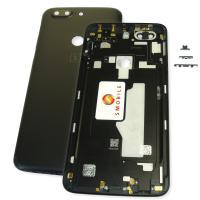 Задняя крышка, корпус OnePlus 5T черная (оригинал Китай)